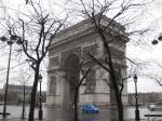 Foto indah Arc de Triomphe 1